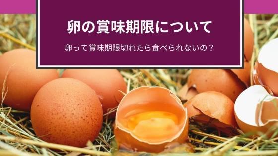 卵賞味期限切れ
