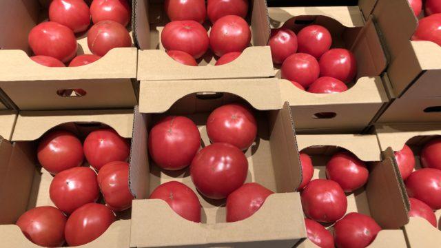トマト箱売り