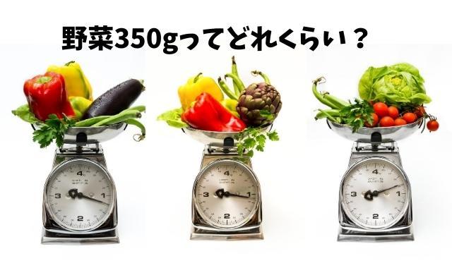 野菜一日350g