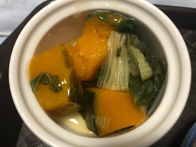 かぼちゃ白菜あんかけ